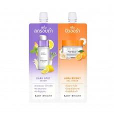 2в1 Сыворотка и крем-гель против акне и темных пятен Duo Booster Dark Spot Serum and Aura Bright Gel Cream