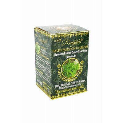 Зелений бальзам із салату Пангпон для тіла Isme Rasyan, 50 г фото 1