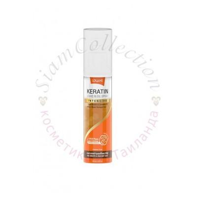 Двофазний спрей для відновлення пошкодженого волосся з кератином Lolane 140 мл фото 1