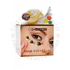 Крем для лифтинга кожи вокруг глаз Nature Republic Snail Eye Cream 15 гр