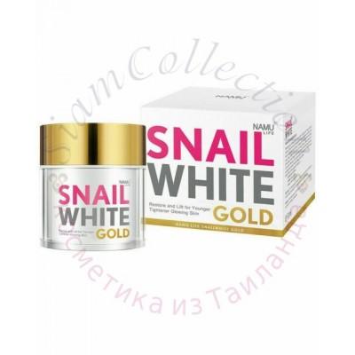 Антивозрастной улиточный крем Snail White NAMU Life фото 1