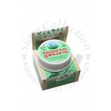 Отбеливающая зубная паста с экстрактом зеленого чая POP 9 HERBS, 30 гр