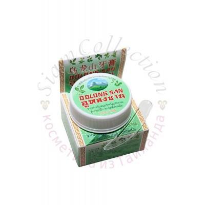 Отбеливающая зубная паста с экстрактом зеленого чая POP 9 HERBS, 30 гр фото 1