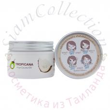 Універсальний кокосовий скраб для обличчя і тіла Tropicana, 120 г