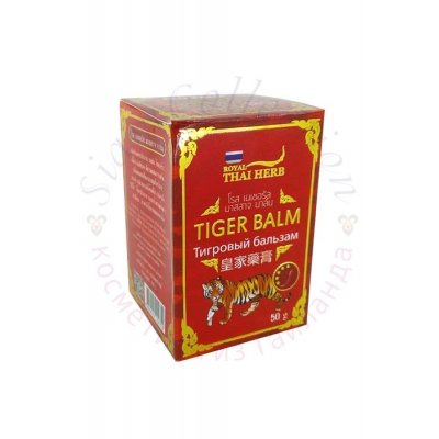Красный тигровый бальзам Royal Thai Herb фото 1