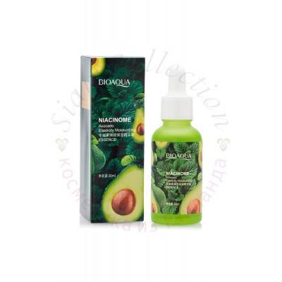 Увлажняющая  сыворотка  с  авокадо  и  пептидами Avocado Elasticity Moisturizing Essence Bioaqua фото 1