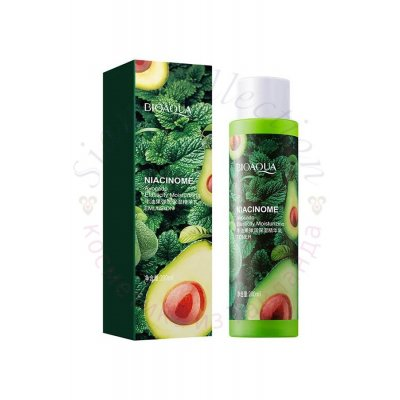 Увлажняющий тонер с авокадо и пептидами Niacinome Avocado Elasticity Moisturizing Toner Bioaqua фото 1
