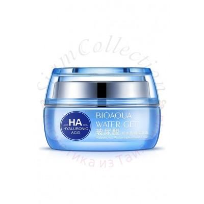 Омолаживающий крем для лица с гиалуроновой кислотой Water Get Hyaluronic Acid Cream Bioaqua фото 1