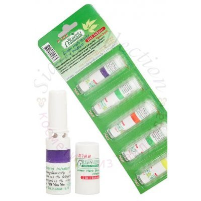 Мини бальзам-ингалятор Green Herb Brand Inhalant