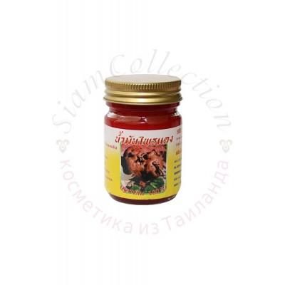 Красный тайский бальзам с горным имбирем Плай Дэнг фото 1
