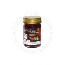 Червоний тайський бальзам з перцем red hot balm Novolife