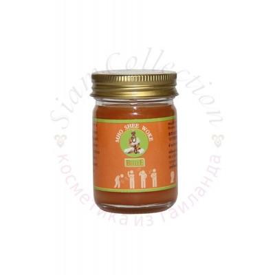 Оранжевый тайский бальзам Dr. Mho Shee Woke Balm