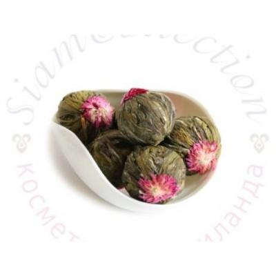 Связанный чай с бутонами Лотоса и Хризантемы фото 1