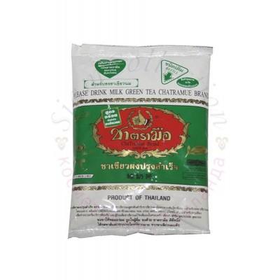 Тайский изумрудный молочный зеленый чай Milk Green Tea ChaTraMue Brand фото 1