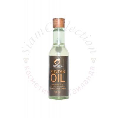 Кокосова олія Tropicana для ідеальної засмаги фото 1