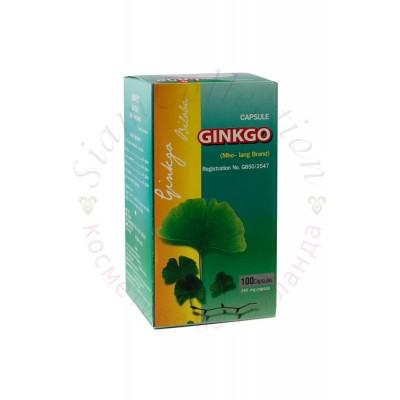 Капсулы Гинкго Билоба для улучшения кровообращения сосудов мозга. Capsule Ginkgo