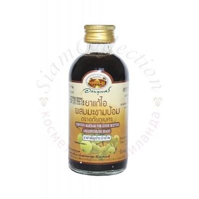 Микстура от кашля на основе экстракта индийского крыжовника Compound Makham Pom Cough Mixture фото 1