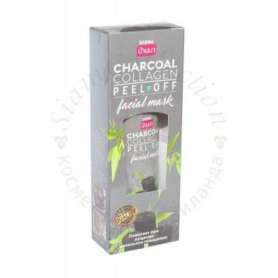 Маска-пленка для лица с древесным углем и коллагеном. Charcoal Collagen Peel-off фото 1
