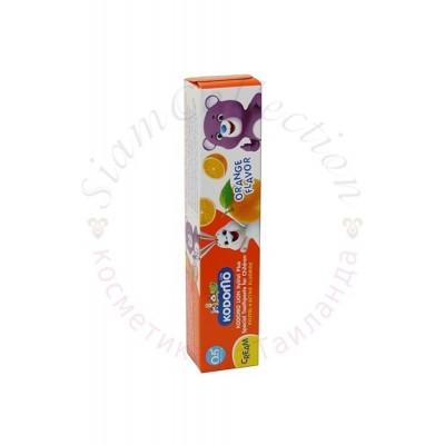 Тайська дитяча зубна паста Кодомо. Kodomo Lion Xylitol Plus Special Toothpaste for Children
