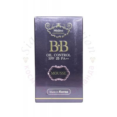 BB Крем 2x Mistine bb Oil Control Mousse Cream фото 1