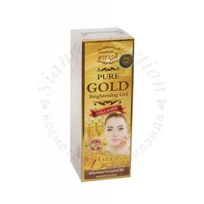 Золотой Коллаген Улучшенная формула Pure Gold Brightening Gel фото 1