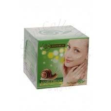 Улиточный крем с коллагеном и эластином Snail Cream with collagen and elastin