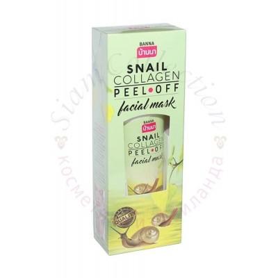 Маска-пленка для лица с экстрактом улитки и коллагеном Snail Collagen Peel-off mask фото 1