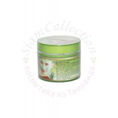 Маска для лица со спирулиной Seaweed Face Mask фото 1