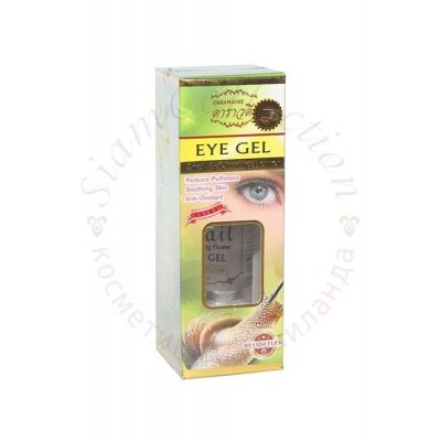 Гель для шкіри навколо очей з муцином равлика Darawadee фото 1