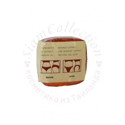 Антицеллюлитное мыло K.Brothers для похудения. K.Brothers Slimming and Firming Gel Soap