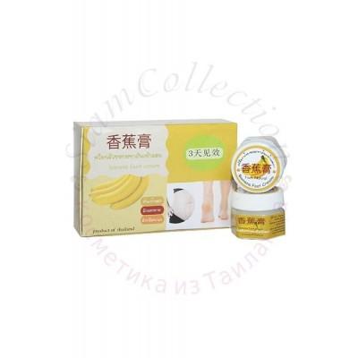Натуральний Поживний крем від тріщин і розтяжок з екстрактом Банана Banana Foot Cream фото 1