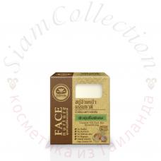 Органическое кокосовое мыло для лица Khaokho Talaypu