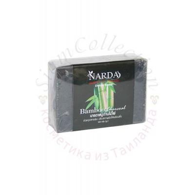 Детокс мило з бамбуковим вугіллям Narda Bamboo