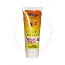 Крем для рук и ногтей с экстрактом Манго Mango Hand & Nail Cream Banna