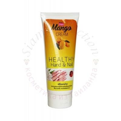 Крем для рук і нігтів з екстрактом Манго Mango Hand & Nail Cream Banna фото 1