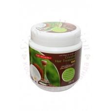 Натуральна маска для пошкодженого волосся з маслом кокоса