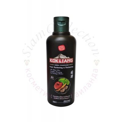 Трав'яний кондиціонер з екстрактом женьшеню, лінчжі та гінкго білоба KOK LIANG фото 1