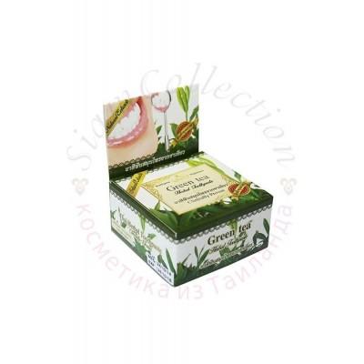 Тайская зубная паста с зеленым чаем и травами фото 1