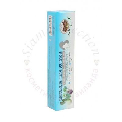 Натуральная зубная паста Abhaibhubejhr с кожурой мангустина