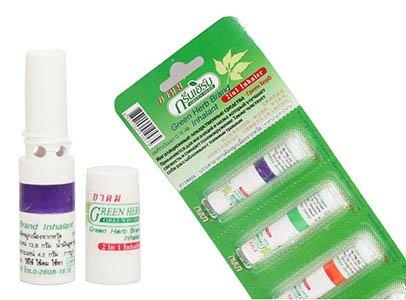 Самый известный нюхательный бальзам Таиланда - Green Herb