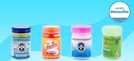 Бесплатная доставка по Украине бальзамов из Таиланда производства Kongka Herb