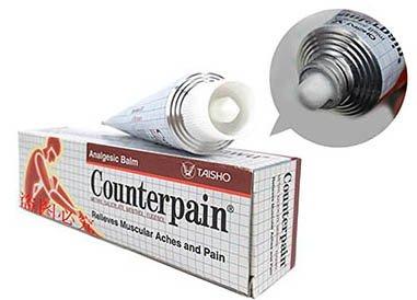 Тайская мазь «Counterpain Hot» против боли в мышцах и суставах