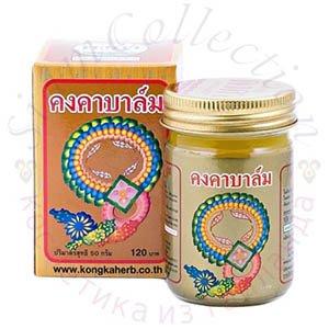 Купить золотой имбирный бальзам «Kongka Herb» по лучшей цене с бесплатной доставкой по Украине