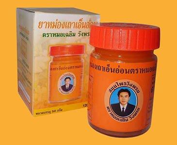 Купить тайский оранжевый бальзам Вангпром с бесплатной доставкой по Украине