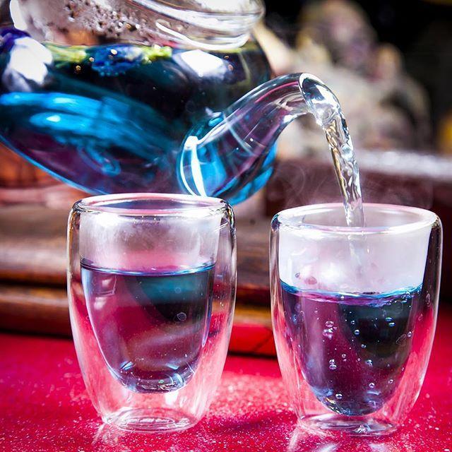 Полезные свойства синего чая Анчан