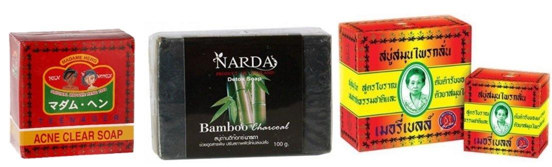 Натуральное мыло из Таиланда