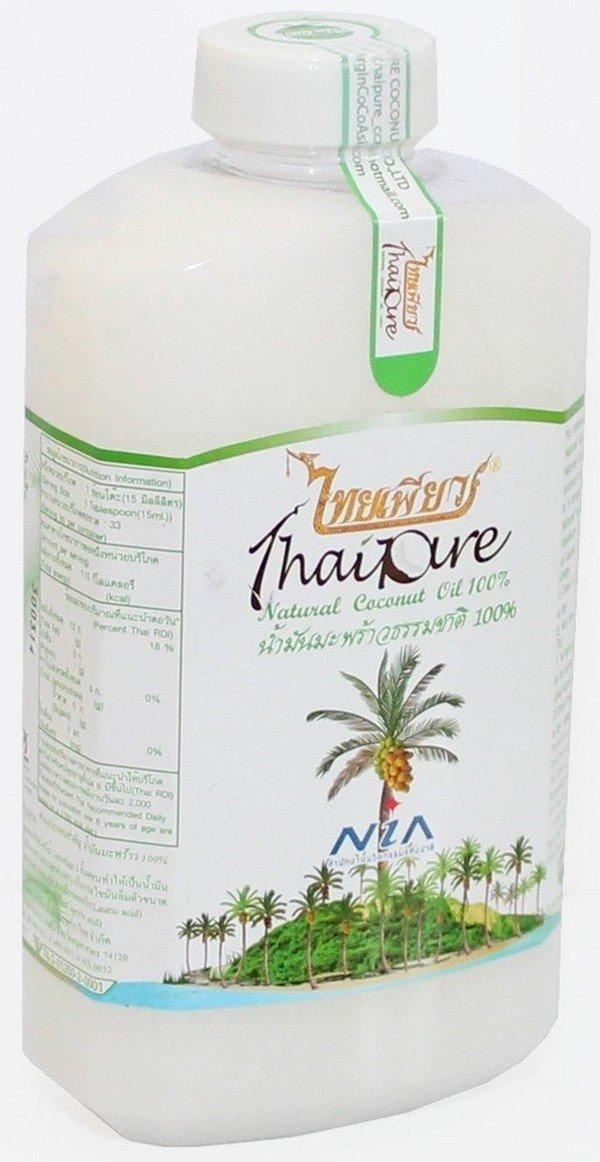 Тайська кокосова олія NIA, 1 літр