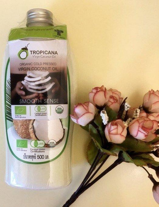 Кокосова олія (500 мл) від таїландського бренду Tropicana
