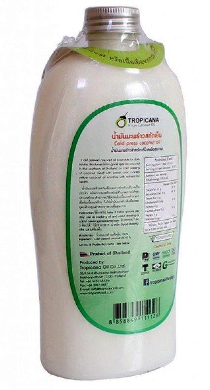 Кокосовое масло Тропикана (500 мл)