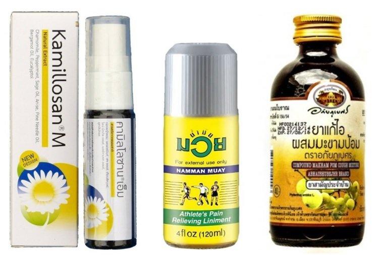 Натуральные препараты из тайской аптеки